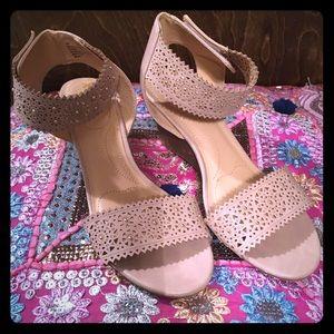 XOXO Soft Wedge Sandals